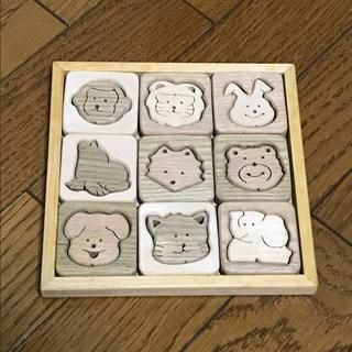 動物パズル  木のパズル