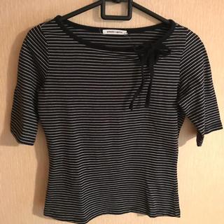 アーモワールカプリス(armoire caprice)のarmoire caprica ボーダートップス/Tシャツ(Tシャツ(半袖/袖なし))