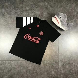 アディダス(adidas)のadidas+coca-cola 18ss Tシャツ vintage Mサイズ(Tシャツ/カットソー(半袖/袖なし))