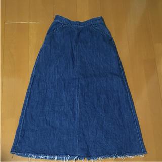 ローリーズファーム(LOWRYS FARM)のローリーズファーム デニムロングスカート(ロングスカート)