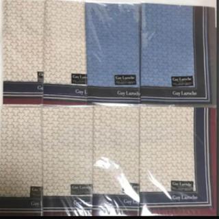 ギラロッシュ(Guy Laroche)の新品 メンズ ハンカチ 8枚セット ギラロッシュ  (ハンカチ/ポケットチーフ)
