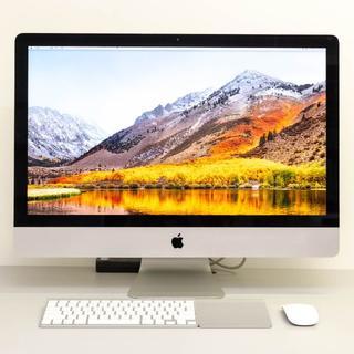 マック(Mac (Apple))のiMac Late 2013 27インチ+USキーボード・マウス・トラックパッド(デスクトップ型PC)