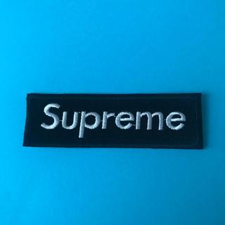 supreme ワッペン 黒