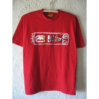 エコーアンリミテッド(ECKŌ UNLTD(ECKO UNLTD))の1140 エコーアンリミテッド 美品 大きめコーデ 半袖 ロゴ プリント(Tシャツ/カットソー(半袖/袖なし))