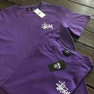 STUSSY - STUSSY(ステューシー)Tシャツ 男女兼用 パープル