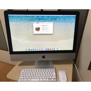 マック(Mac (Apple))のiMac 21.5inch late 2012 美品(デスクトップ型PC)