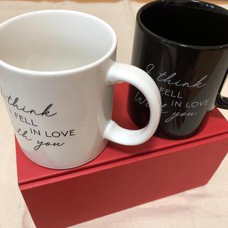 ラヴィジュール(Ravijour)のRavijourノベルティマグカップ♡(グラス/カップ)