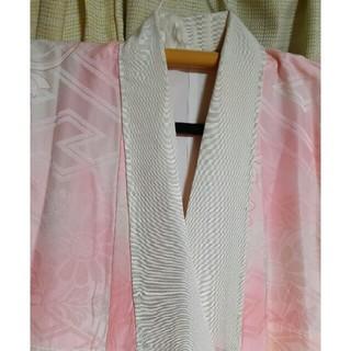 洗える長襦袢、花、暈し、千代田の着物(着物)