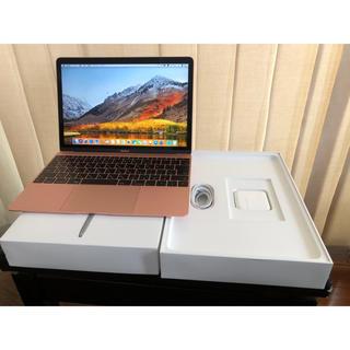 マック(Mac (Apple))のMacBook 2017 12 CTO CPU i7 1.4GHz 512GB(ノートPC)