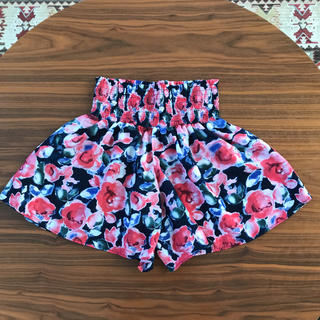 GU キュロットスカート 子供服 女の子