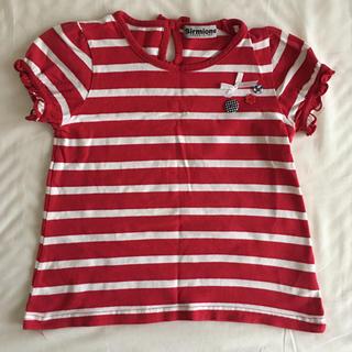 シマムラ(しまむら)のキッズ ボーダーTシャツ (Tシャツ/カットソー)
