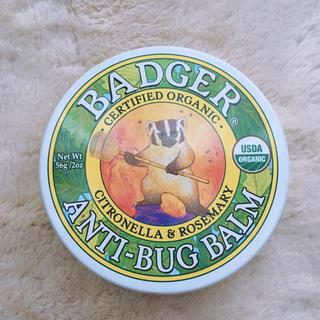 バジャー(Badger)のBadger バジャープロテクトバーム 虫よけバーム56g レモングラス(エッセンシャルオイル(精油))