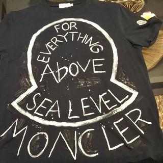 モンクレール(MONCLER)のMONCLERペイント(Tシャツ/カットソー(半袖/袖なし))