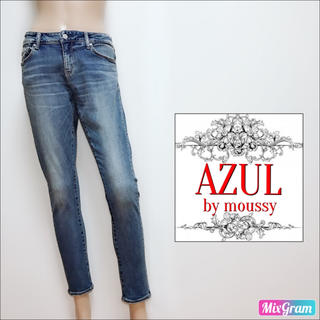 AZUL by moussy - アズールバイマウジー❤️新品 スキニーデニム❤スライ ロデオクラウンズ