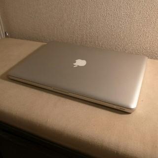 マック(Mac (Apple))のバッテリー超良好 MacBook PRO 大容量500GB DVD(ノートPC)