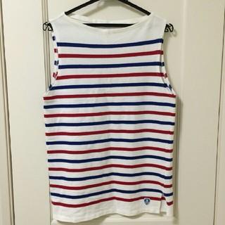 オーシバル(ORCIVAL)のORCIVAL オーチバル マリンボーダー タンクトップ(Tシャツ/カットソー(半袖/袖なし))