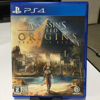 プレイステーション4(PlayStation4)のアサシンクリード オリジンズ  プレステ4 美品(家庭用ゲームソフト)