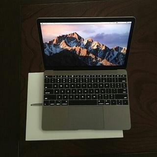 マック(Mac (Apple))のMacBook 12インチ 512GB apple care(ノートPC)