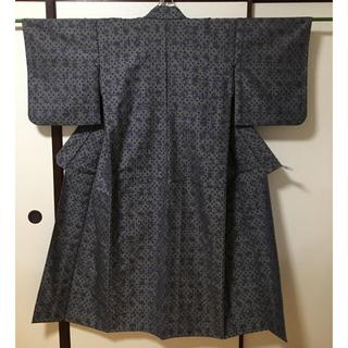 着物 紬 小柄な方用 はぎれ(着物)