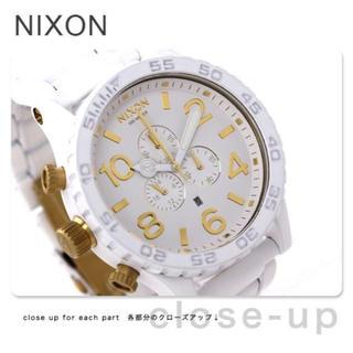 NIXON - 【新品未使用】NIXON 51-30 ホワイト ゴールド ニクソン 腕時計