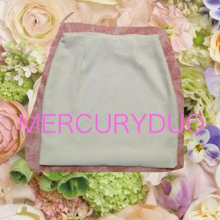 マーキュリーデュオ(MERCURYDUO)のMERCURYDUO♡タイトスカート(ミニスカート)