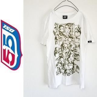 フィフティーファイブディーエスエル(55DSL)のディーゼル 55DSL スカルプリントTシャツ Sサイズ(Tシャツ/カットソー(半袖/袖なし))