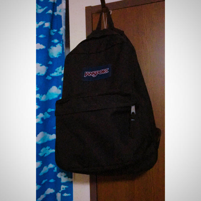 95f5f5b17f77 JANSPORT(ジャンスポーツ)のジャンスポ リュック 黒 スーパーブレイク レディースのバッグ(リュック