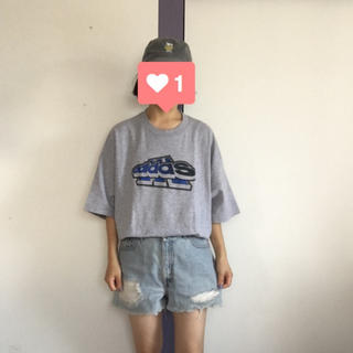 アディダス(adidas)のadidas ビッグTEE(Tシャツ/カットソー(半袖/袖なし))