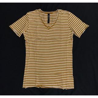 ダブルジェーケー(wjk)の新品12960円 wjk ストレッチカットソー TシャツAKMジュンハシモト(シャツ)