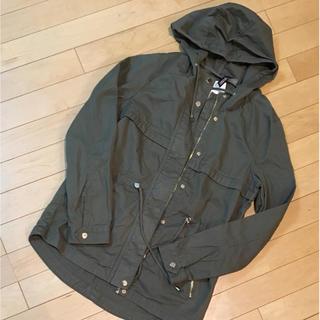 新品 H&M ジャケット 34 フーデットパーカー(モッズコート)