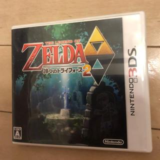 ニンテンドー3DS(ニンテンドー3DS)のNINTEND 3DS ゼルダの伝説 神々のトライフォース2(家庭用ゲームソフト)
