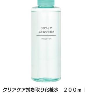 ムジルシリョウヒン(MUJI (無印良品))の無印良品  クリアケア拭き取り化粧水(化粧水 / ローション)