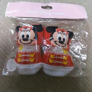 ディズニー(Disney)のディズニーリゾート ミニー 靴下 ソックス(靴下/タイツ)