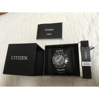 シチズン(CITIZEN)の激レア 美品 正規 CITIZEN 腕時計 プロマスター 電波時計 クロノグラフ(腕時計(アナログ))