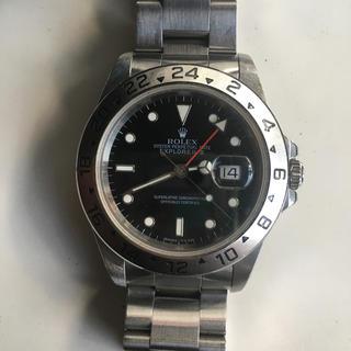 ロレックス(ROLEX)のロレックス エクスプローラー2 黒 トリチウム(腕時計(アナログ))