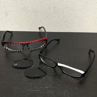 アランミクリ(alanmikli)のアランミクリ 伊達メガネ 2点セット 替えレンズ付き(サングラス/メガネ)