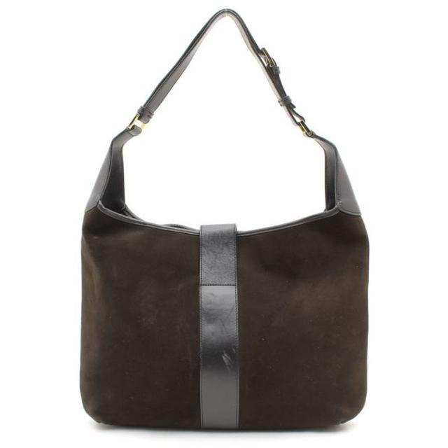 29a09c7d9012 Gucci(グッチ)のGUCCIグッチスエードレザータイガーGG金具ワンショルダーバッグ鞄