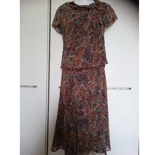 ローラアシュレイ(LAURA ASHLEY)のLAURA ASHLEY/ローラアシュレイ   スカート スーツ セットアップ(ロングワンピース/マキシワンピース)