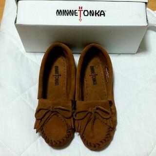 Minnetonka - 新品未使用  ミネトンカ  ブラウン size6