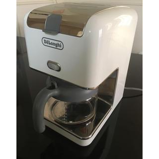 DeLonghi - デロンギ コーヒーメーカー 白 ドリップコーヒー CM300J delonghi