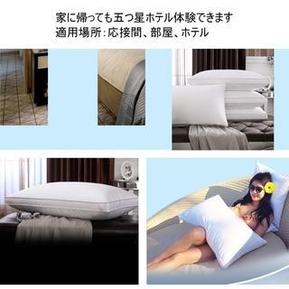 快眠 枕 ハイクラス 高級ホテル仕様 安眠枕 低反発枕(枕)