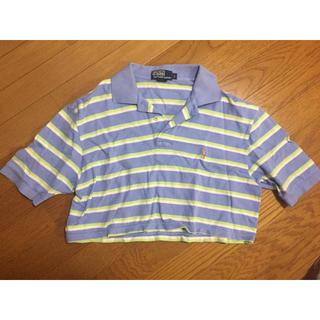 ポロラルフローレン(POLO RALPH LAUREN)のポロ ラルフローレン ショート丈ポロシャツ 古着(ポロシャツ)