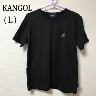 カンゴール(KANGOL)の93.【KANGOL】レディース Tシャツ(L)(Tシャツ(半袖/袖なし))