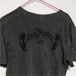 バンクロバー(BANKROBBER)のビンテージ加工 Tシャツ BANKROBBER バンクロバー HSUGI(Tシャツ/カットソー(半袖/袖なし))