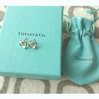 Tiffany & Co. - TIFFANY & Co. オープンハート ピアス