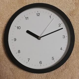 ムジルシリョウヒン(MUJI (無印良品))の【mmmさん専用】[無印良品] 壁掛け時計(掛時計/柱時計)