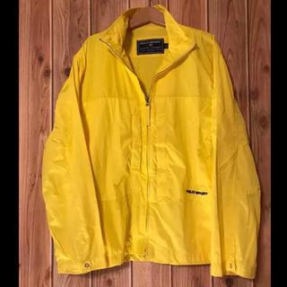 ポロラルフローレン(POLO RALPH LAUREN)のpolo sport ポロ スポーツ ブルゾン ジャケット 黄色 Mサイズ(ブルゾン)