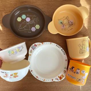 ディズニー(Disney)のベビー食器セット★(離乳食器セット)