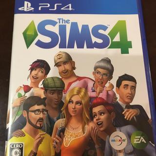 プレイステーション4(PlayStation4)の初回特典付き The SIMS4(家庭用ゲームソフト)
