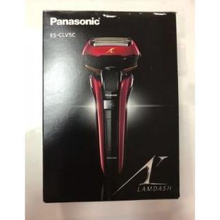 パナソニック(Panasonic)の【新品】パナソニック ラムダッシュ 5枚刃 赤 ES-LV5C-R(メンズシェーバー)